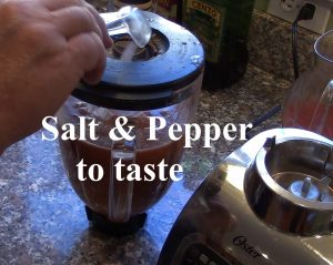 Gazpacho Salt and Pepper