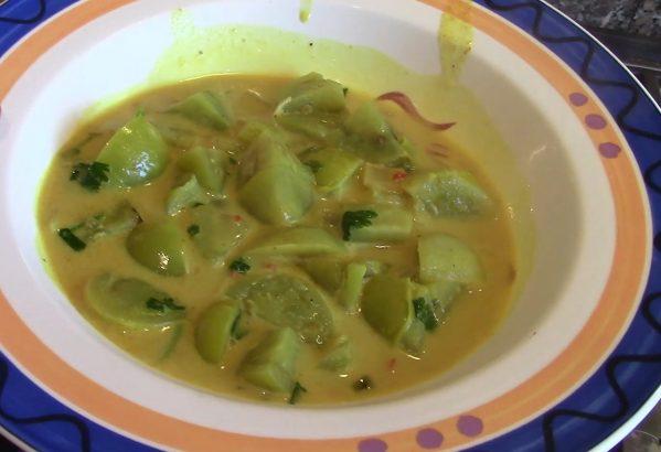 Green Tomato Soup
