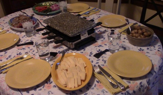 Raclette Dinner Party