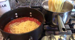 Pasta Shrimp Pomodoro