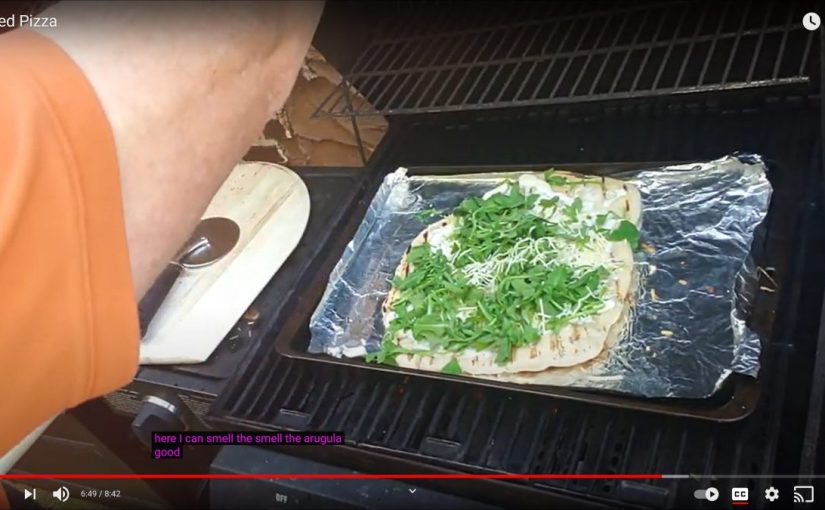 How to Grill a Pizza – video