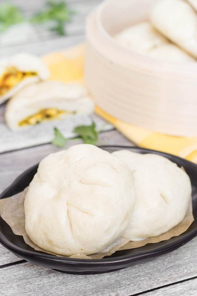 Siopao Recipe - Steamed Filipino Buns w/ Chicken Curry Filling
