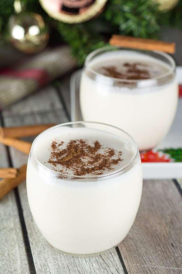Traditional Puerto Rican Eggnog (Coquito) Recipe