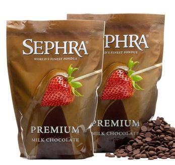 Sephra Chocolate Premium Chocolate for Chocolate Fountain Or Fondue