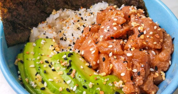 Simple Salmon Poke