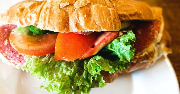 Croissant Breakfast Sandwich (Easy!)