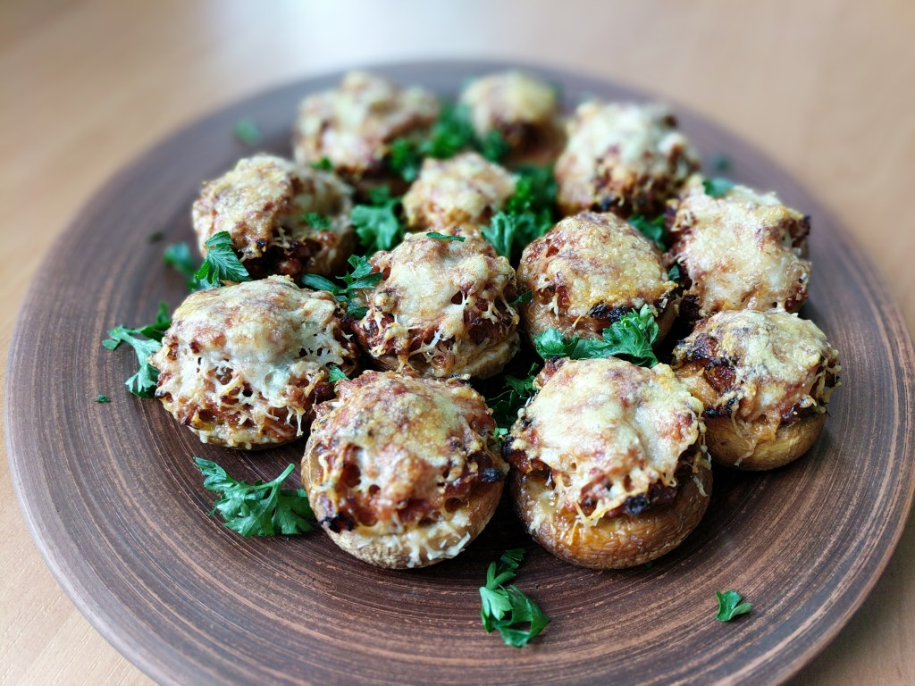Amazing Stuffed Mushrooms Recipe
