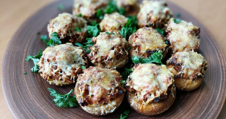 Stuffed Mushrooms-The Last Recipe You'll Ever Use