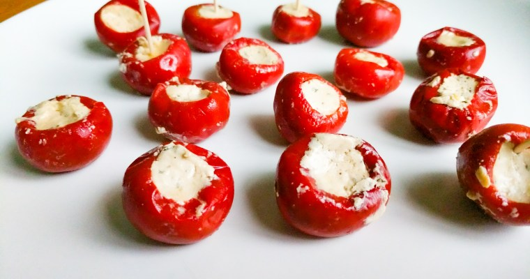 Peppadew (Piquante) Peppers with Feta