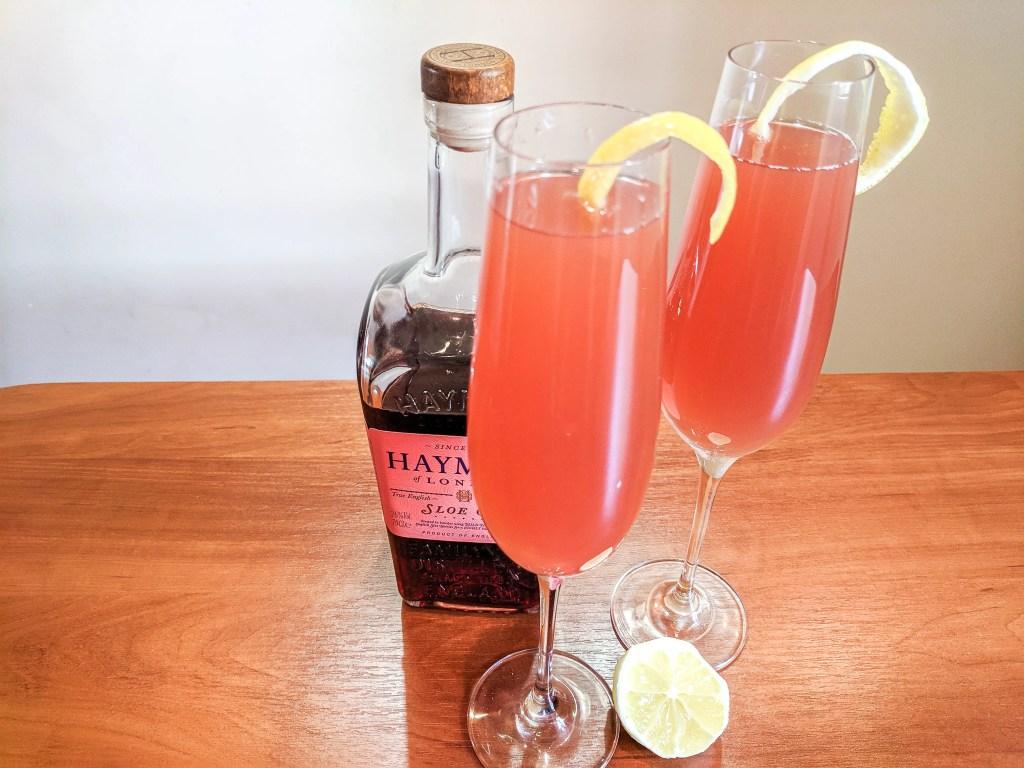 sloe gin grapefruit cocktail