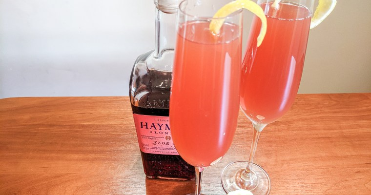 Sloe Gin Grapefruit