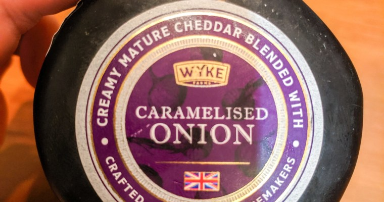 Caramelised Onion Cheddar by Wyke Farms: A Review