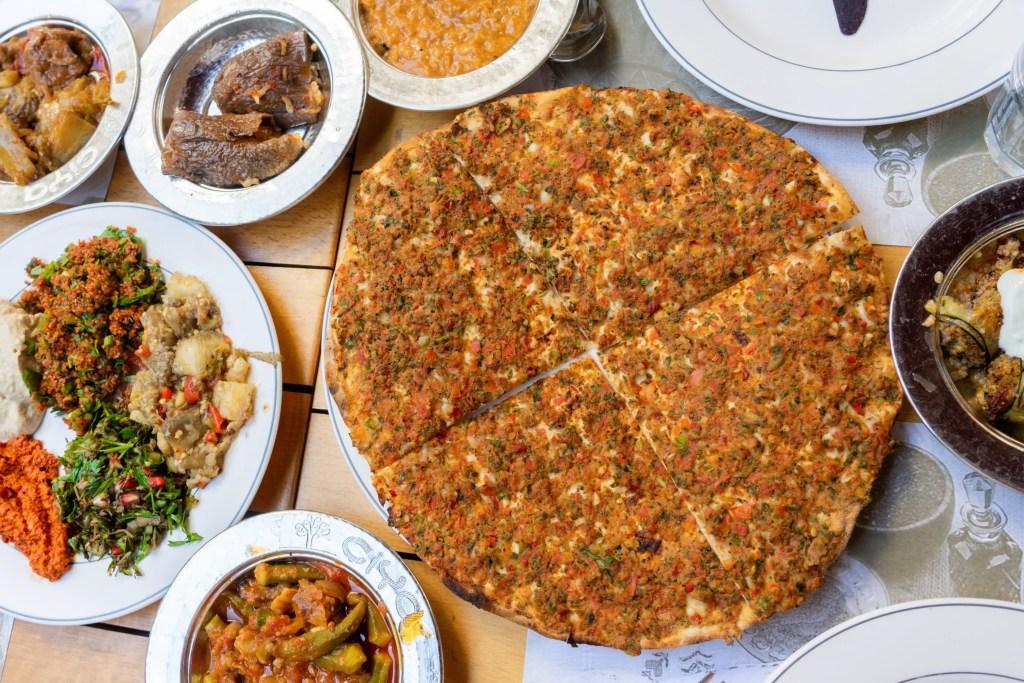 Food at Ciya in Istanbul Turkey