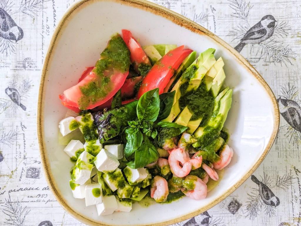 Jardine Salad in a beautiful Churchill Stonecast bowl