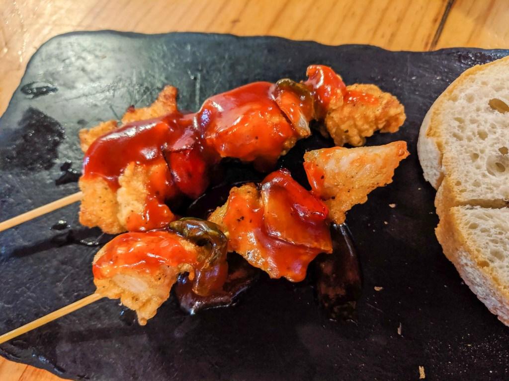 BBQ Chicken Broquette from EntreBrasas