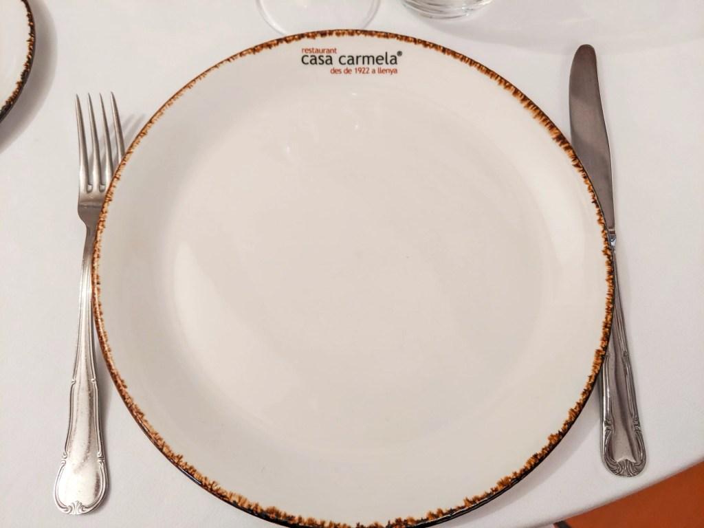 Plate from Casa Carmela