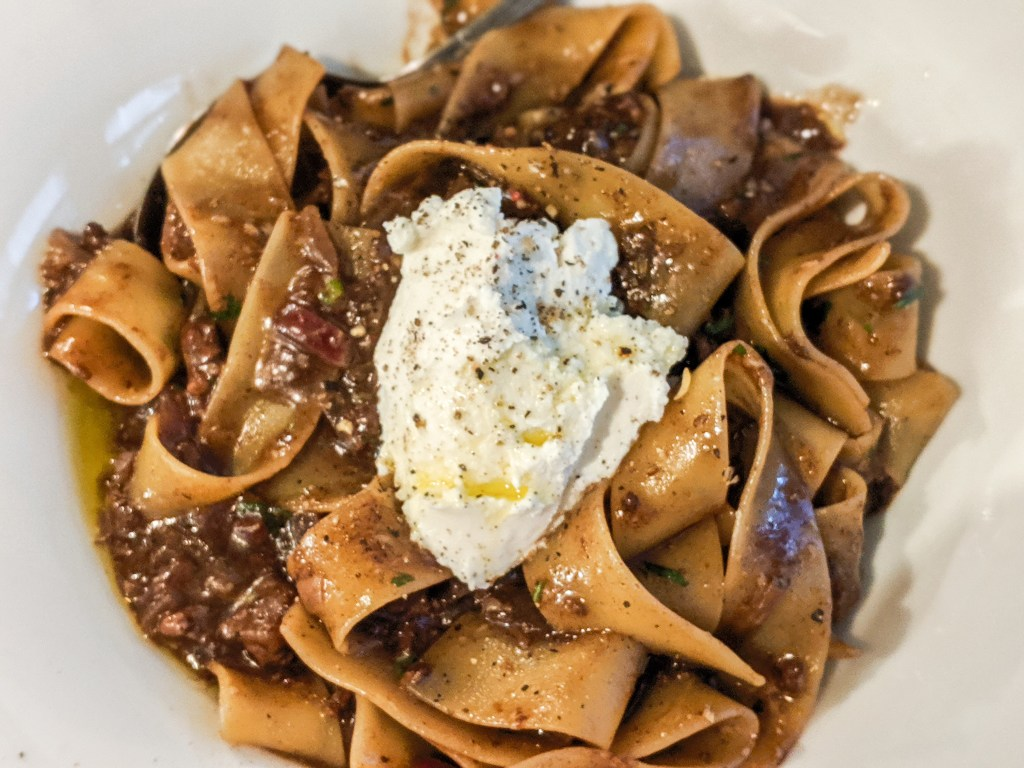 corned beef pappardelle pasta