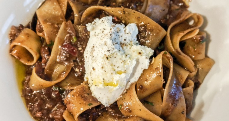 Corned Beef Pappardelle