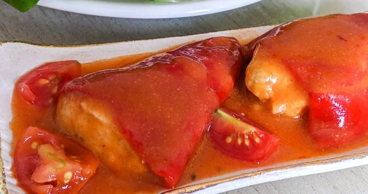 Bacalao Stuffed Piquillo Peppers (Piquillo Rellenos de Bacalao)