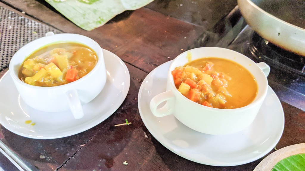 Opor Ayam, a Balinese Chicken Curry from a farm cooking class in Ubud