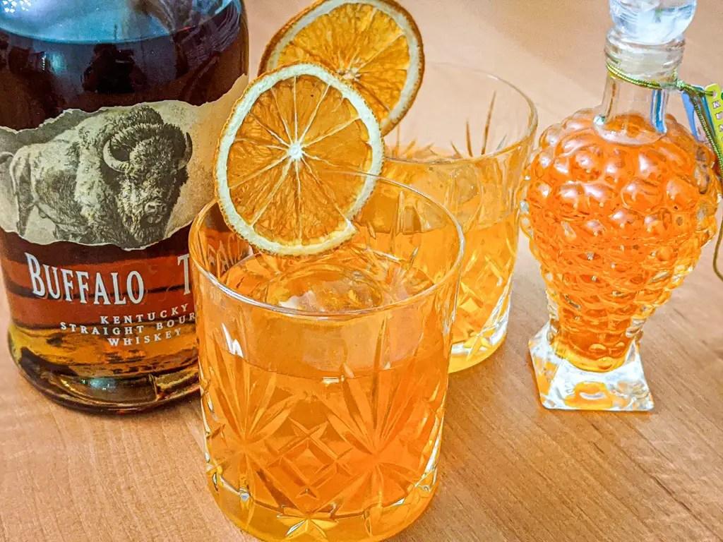 kumquat bourbon sour cocktail recipe