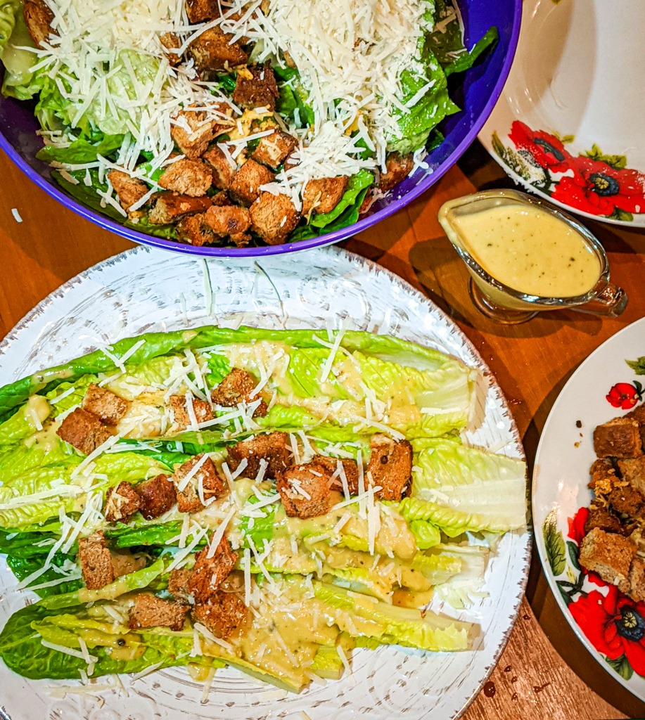 The most authentic classic steakhouse caesar salad recipe