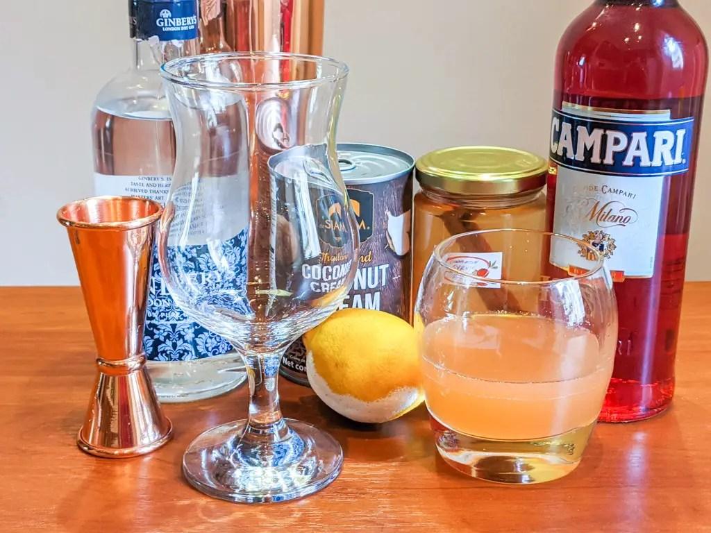 catamaran cocktail ingredients