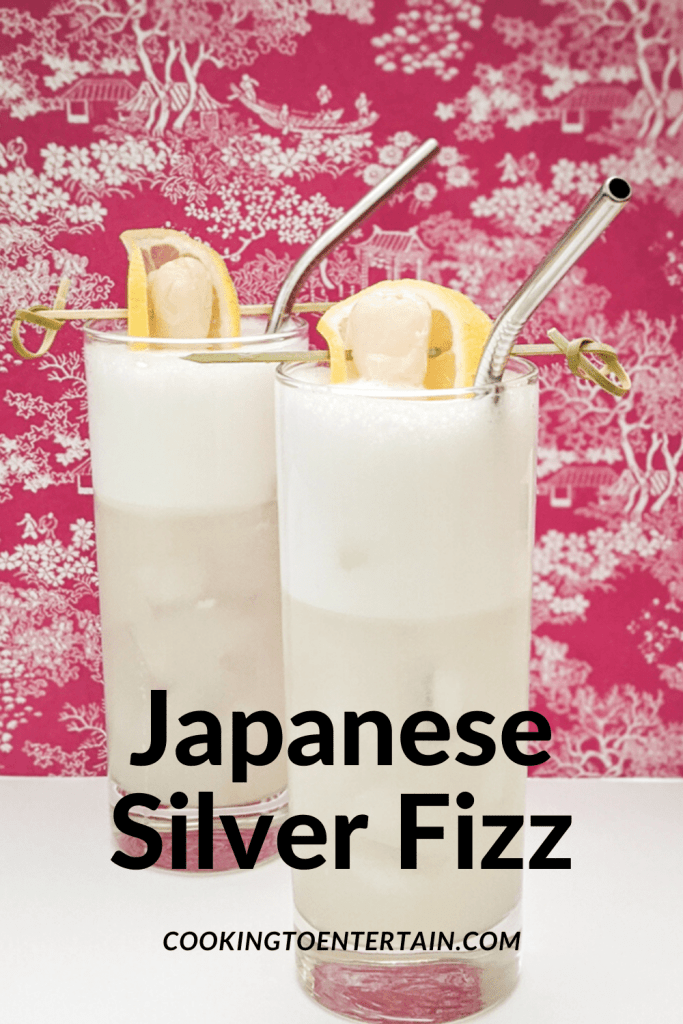 Japanese Silver Fizz pin