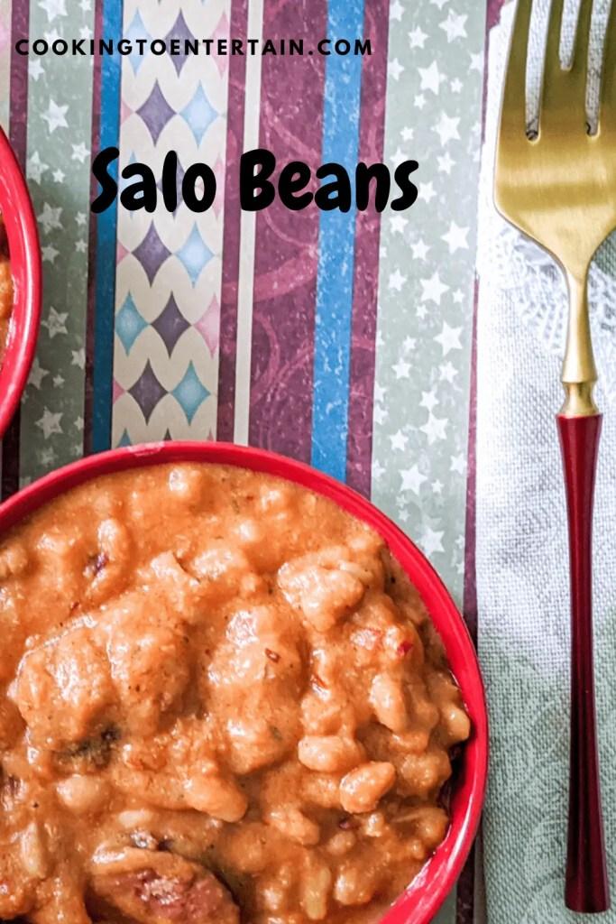 salo beans pin
