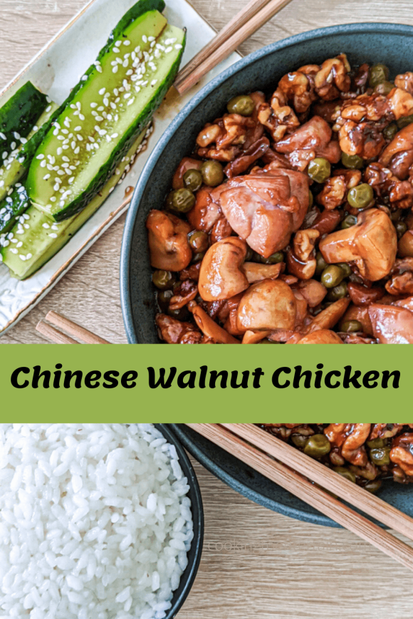 chinese walnut chicken recipe pin