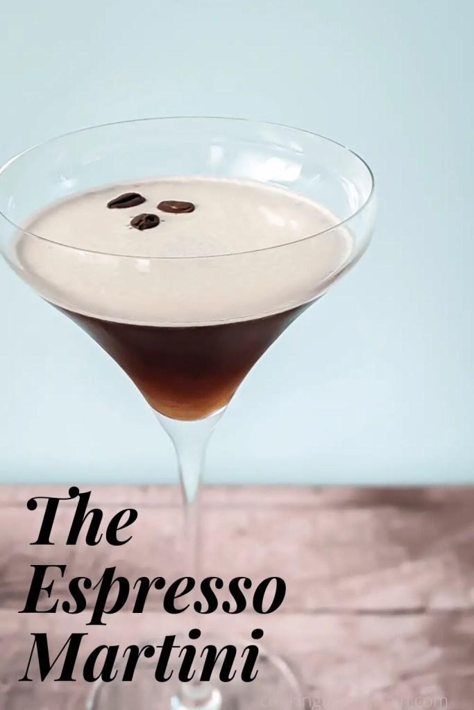 espresso martini pin