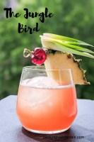 jungle bird tiki cocktail pin