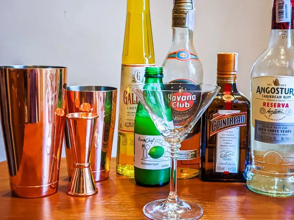 yellow bird cocktail ingredients