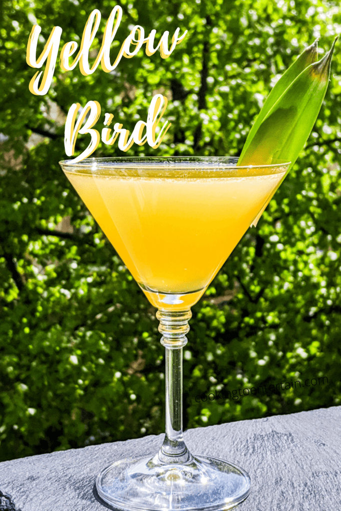 The Yellow Bird Cocktail Recipe