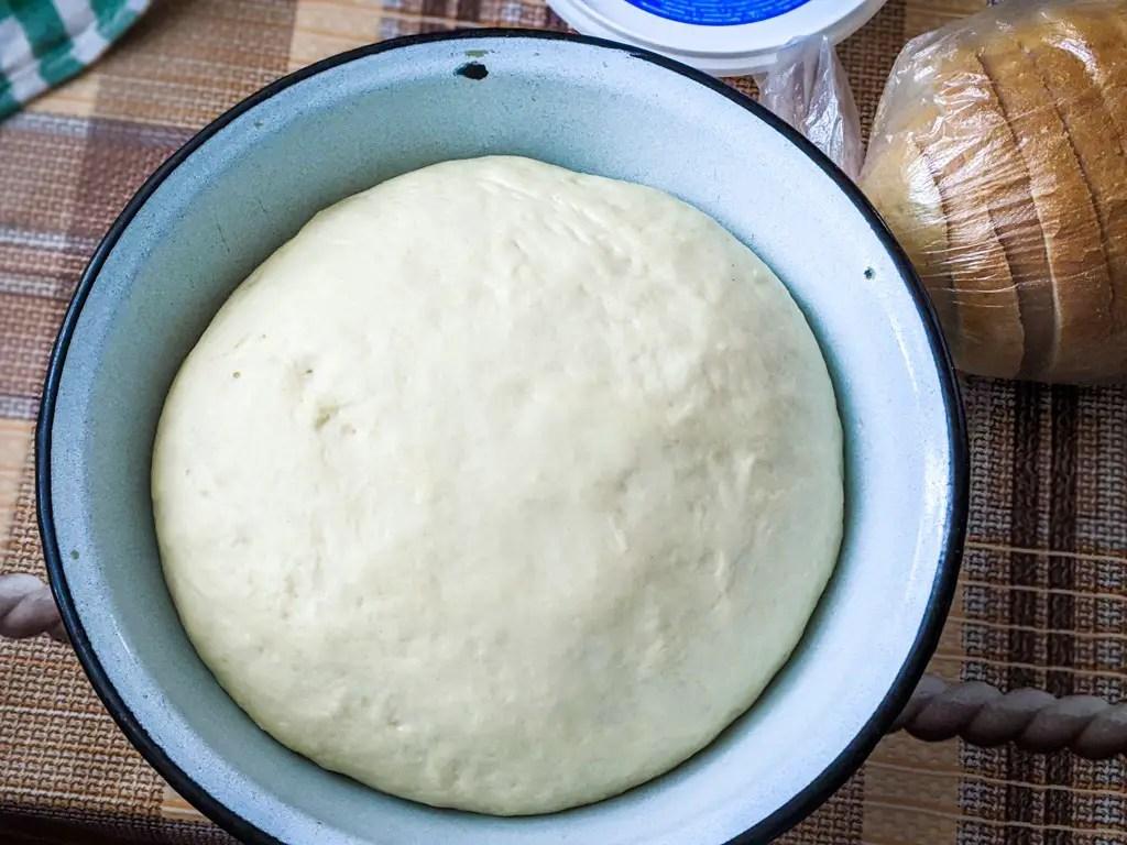 risen bublik dough