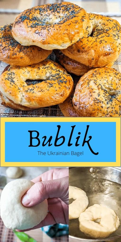Ukrainian bublik pin image