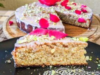 almond rose cake