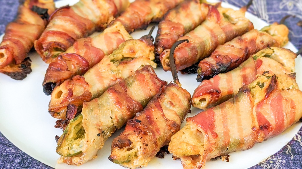 Gourmet Goat Cheese Jalapeno Poppers