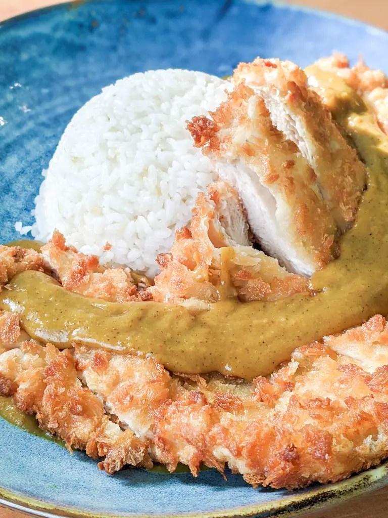 Chicken Katsu Curry (チキンカツカレー)