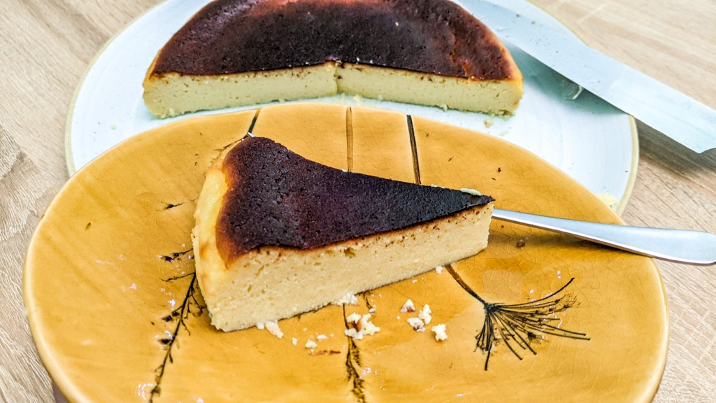 Traditional Basque Burnt Cheesecake Recipe (La Viña Cheesecake)