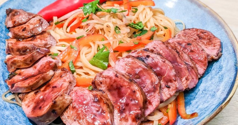 Duck With Vietnamese Style Noodles