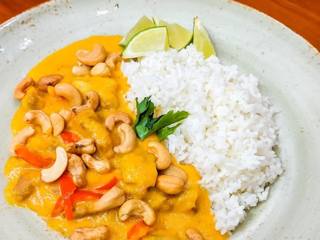 Thai Mango Chicken Curry
