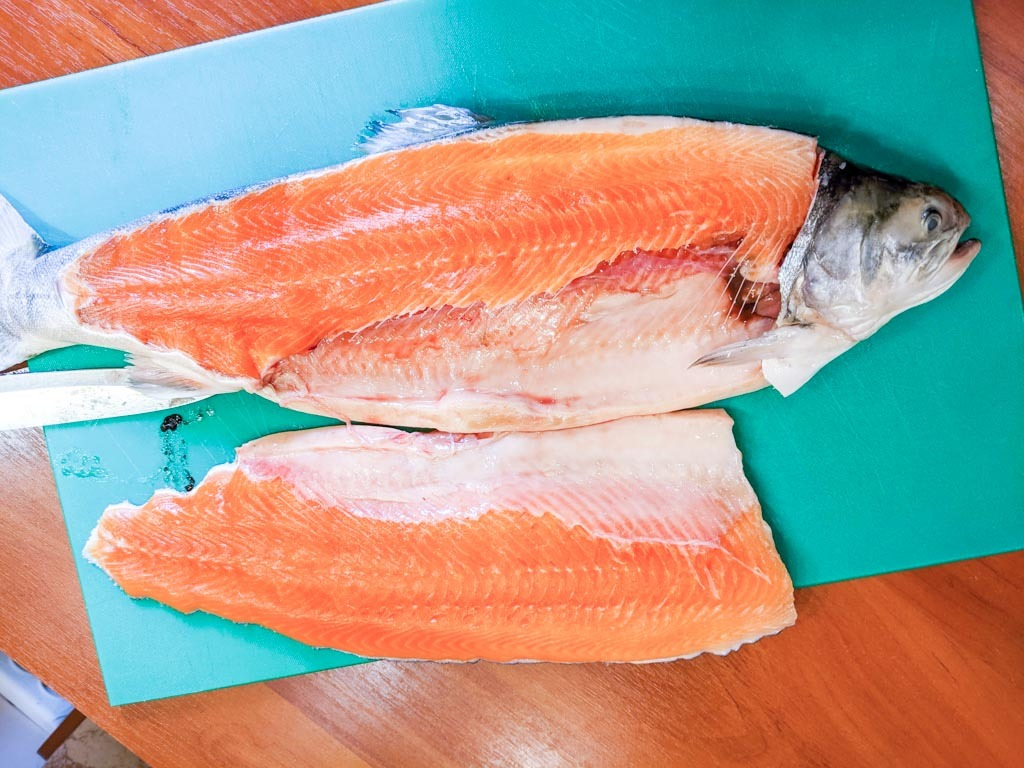 how to fillet an arctic char