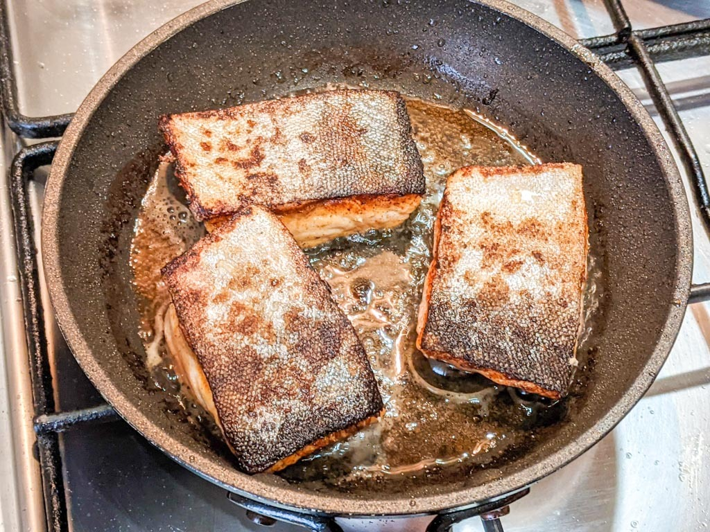 how to make pan seared arctic char