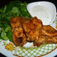 Tandoori Chicken with Lemon Yogurt Sauce
