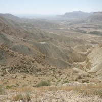 A Day Trip in the Negev Desert, Israel