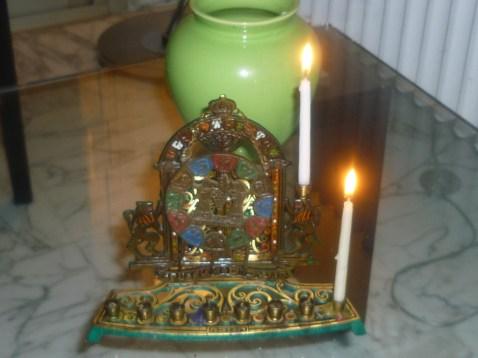 Hanukah 1st night