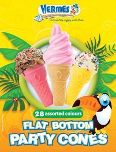 Flatbottom Party Cones