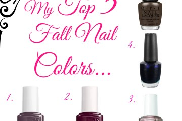 Favorite Fall Nail Polishes