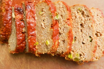Turkey Meatloaf with Sweet and Tangy Glaze